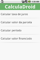 Screenshot of CalculaDroid