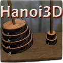 Hanoi Tower 3D Puzzle icon