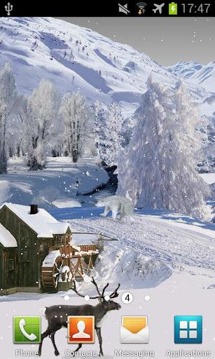 Winter White Live Wallpaper