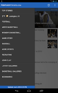 University of Kentucky Sports - screenshot thumbnail
