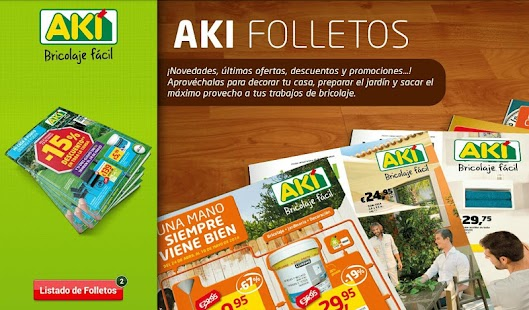 AKI Bricolaje Folletos- screenshot thumbnail