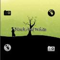 Go Launcher Black And White logo