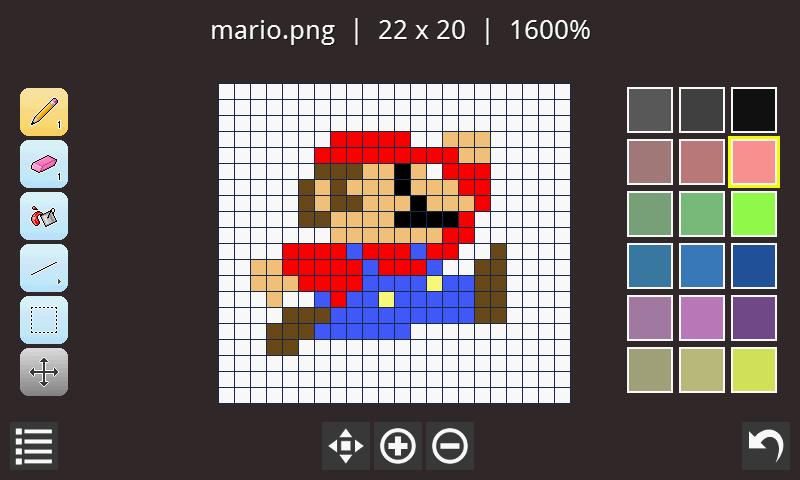 8x8 pixel art maker
