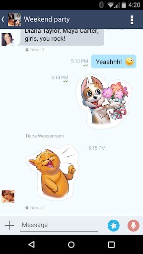 4talk Messenger 2.0.76 screenshots 7