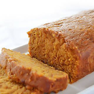 Moist Pumpkin Bread.