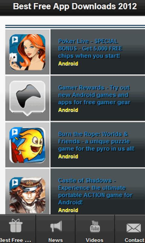 2012 Best Free App's - screenshot