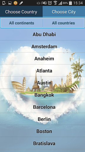World Attractions