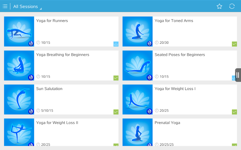 Daily Yoga - Yoga Fitness App- screenshot