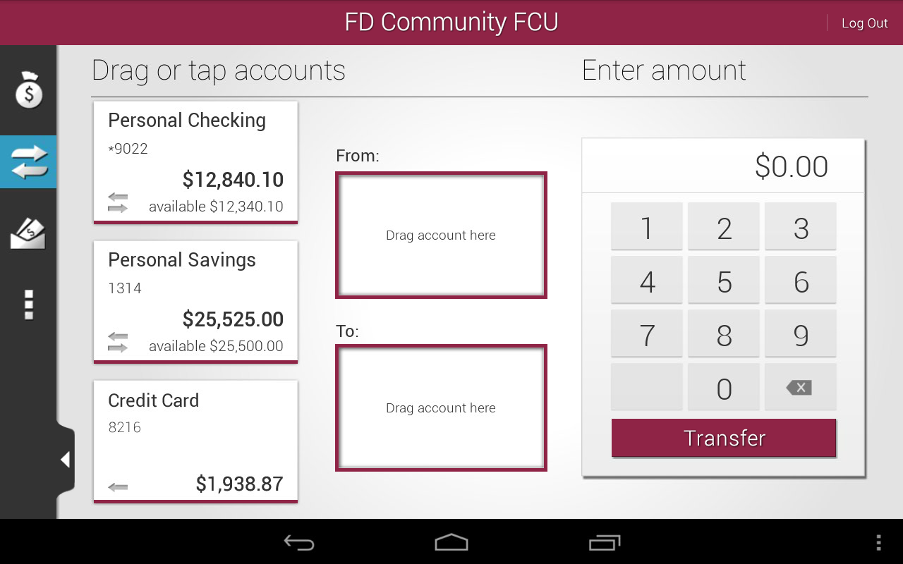 FD Community FCU Mobile - screenshot
