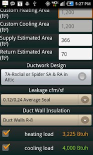 HVAC Buddy® Load Calc- screenshot thumbnail