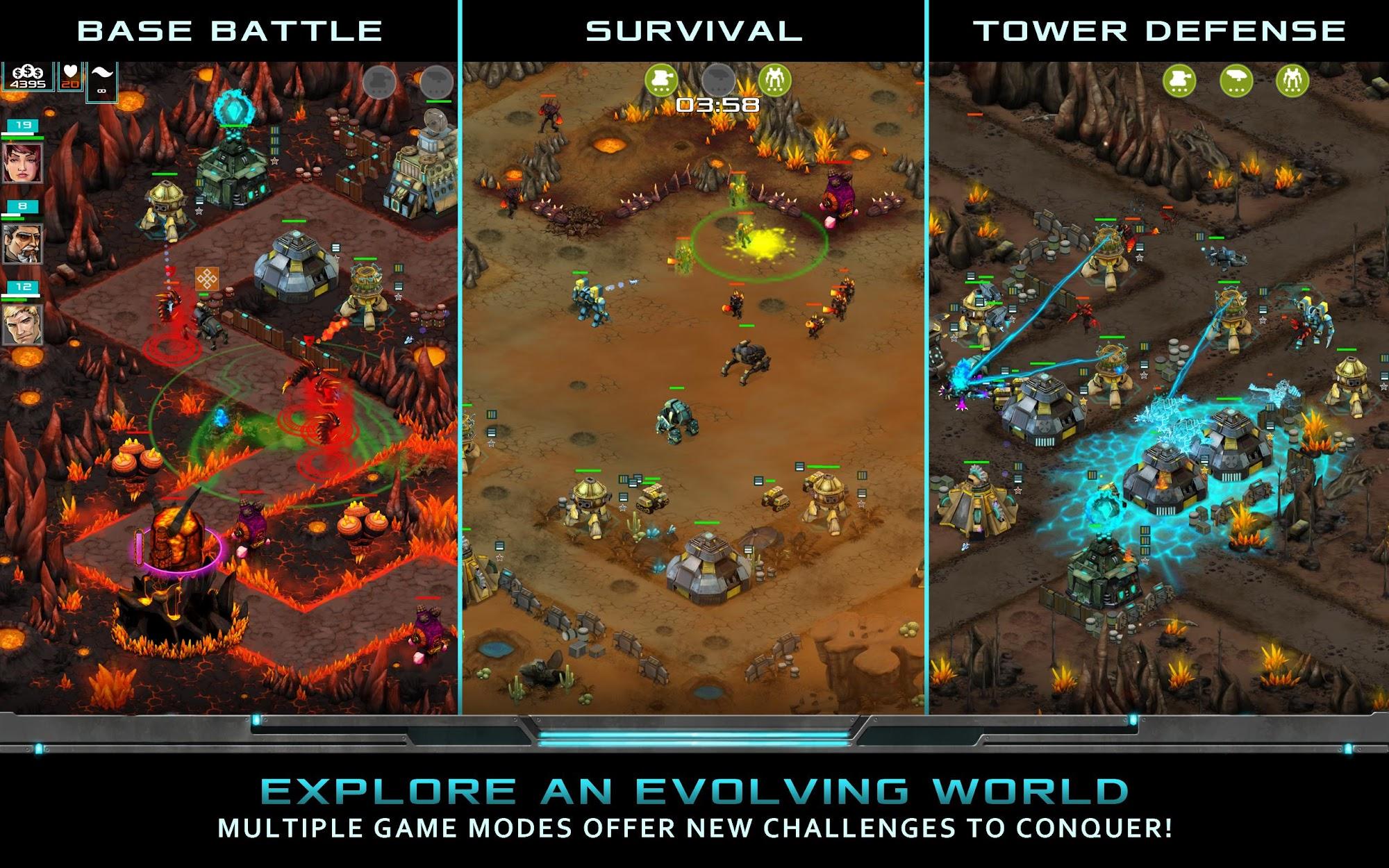 Nitropia: War Commanders screenshot #7