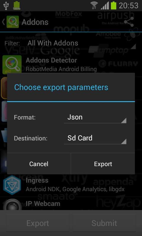 Addons Detector Screenshot 3