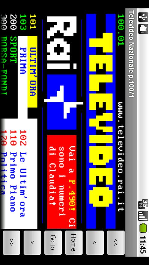 Televideo - screenshot