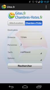 Gîtes et Chambres d'hôtes- screenshot thumbnail