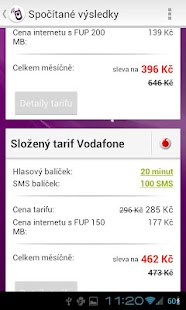 Srovnání tarifů- screenshot thumbnail