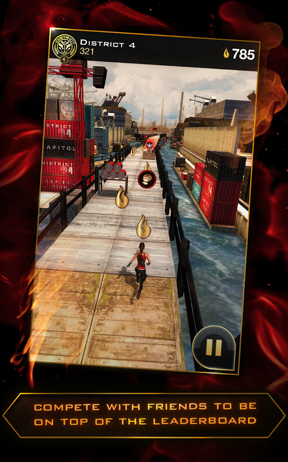 Hunger Games: Panem Run - screenshot