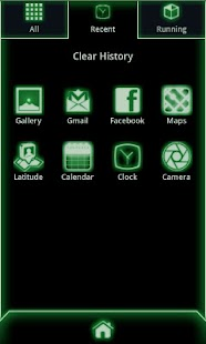 Glow Go Launcher Ex Theme Code- screenshot thumbnail