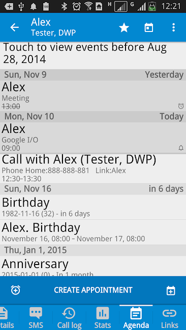 #4. DW Contacts & Phone & Dialer (Android)