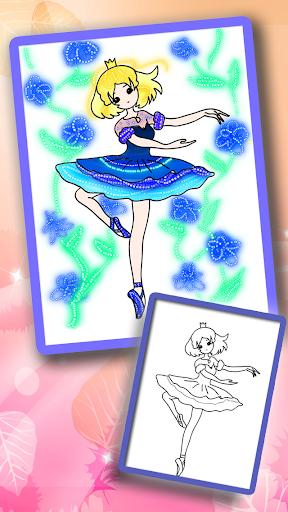 公主涂色绘本 - 涂色秀秀 - 绘本画画板二合一