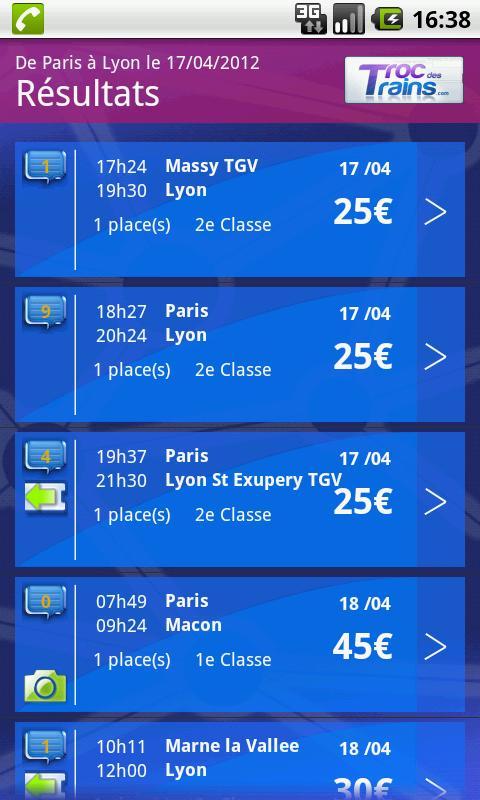 Troc des Trains- screenshot