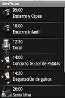 Screenshot of Libro de Fiestas Ciempozuelos