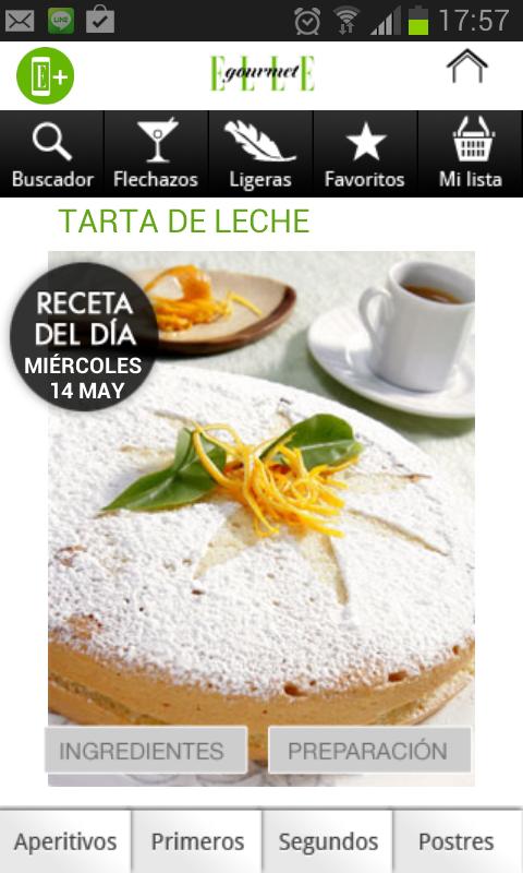 ELLE GOURMET recetas comida - screenshot