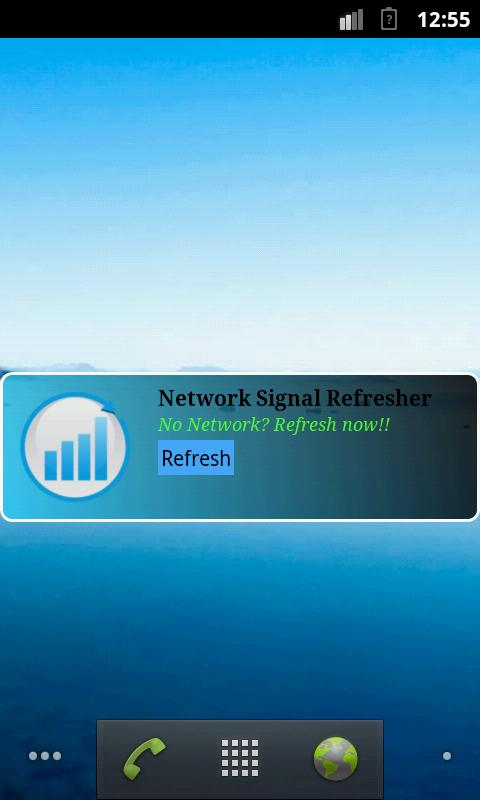Network Signal Refresher Lite - screenshot
