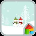 happy winter dodol theme icon