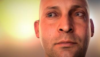 Screenshot of NVIDIA Tegra FaceWorks Demo