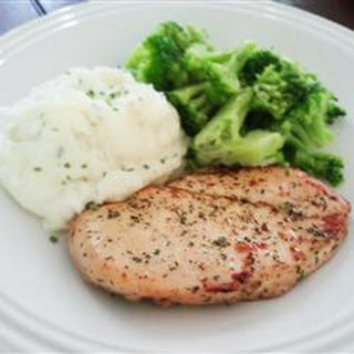 Marinated Ranch Broiled Chicken.