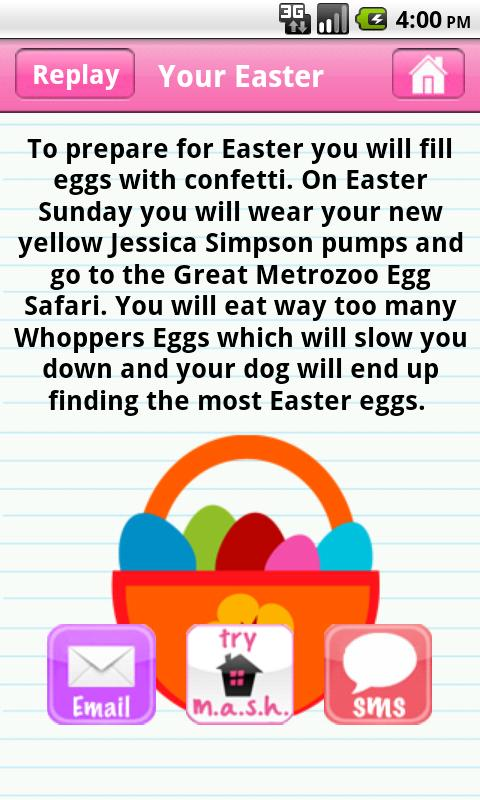 MASH Easter- screenshot