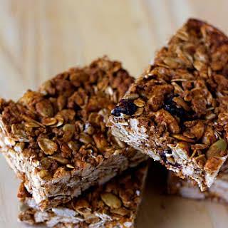 Crunchy Good-for-You Granola Bars.