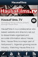 Screenshot of HausaFilms.TV - Hausa Films