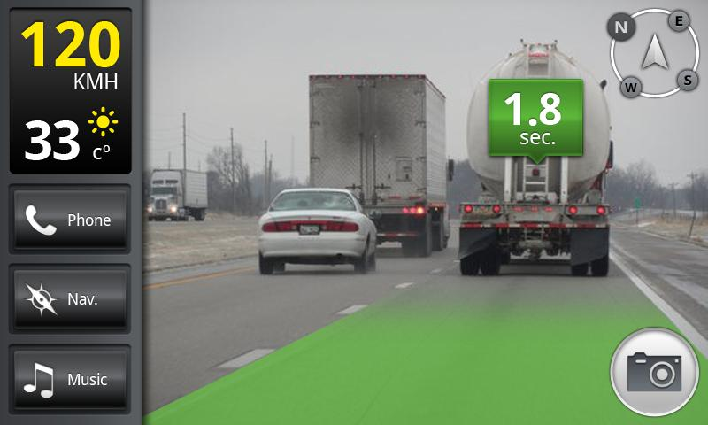 iOnRoad Augmented Driving Pro - screenshot