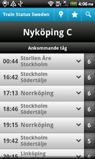 Train Status Sweden - screenshot thumbnail