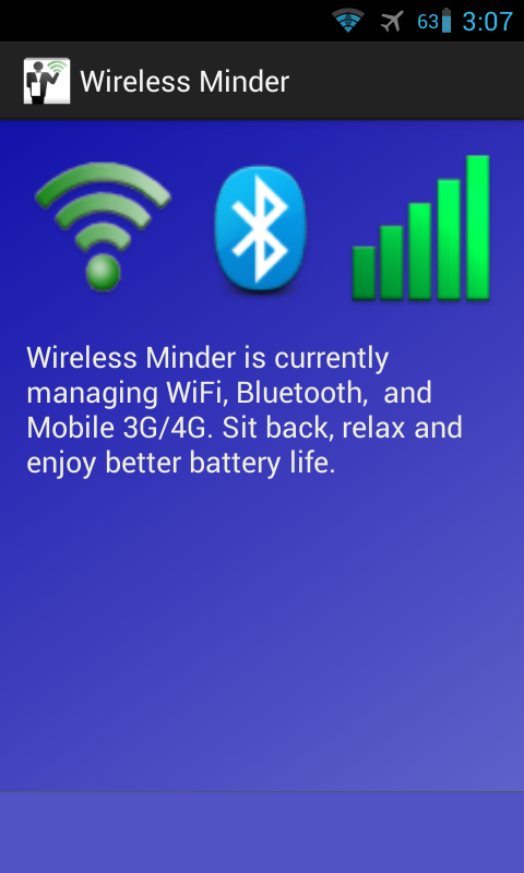 Wireless Minder - screenshot