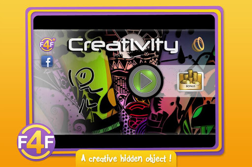 Creativity - Hidden objects