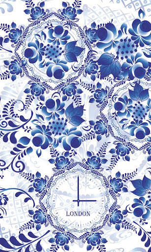 FREE Beautiful Flower Clock