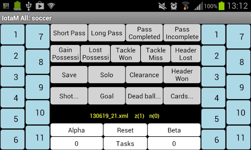 IotaMetrics Soccer