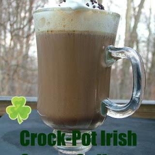Crock-Pot Irish Cream Coffee.