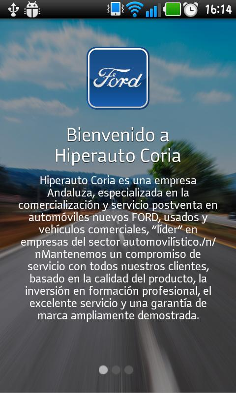 Hiperauto Coria - screenshot