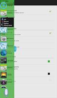 Screenshot of AppScroll Sidebar Lite