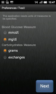 Insulin Bolus Calculator- screenshot thumbnail