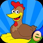 拼图农场动物的孩子游戏 icon