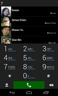 ExDialer SimpBlack Theme - screenshot thumbnail