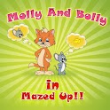 Molly & Bolly (In Mazed Up) logo