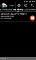 Screenshot of NZBAir - SABNzb & Usenet NZB