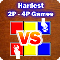 Hardest 2 Player Games (2P-4P) icon
