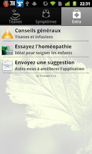 Tisanes et Infusions screenshot