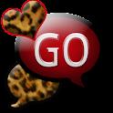 GO SMS THEME/RedLeopard logo